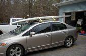 Comment j'ai construit un toit-rack robuste pour une planche à voile/planche de surf