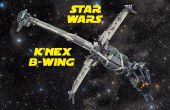 K ' NEX B-Wing Starfighter de Star Wars