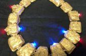 Stargate LED lumineux collier
