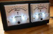 VU-mètre analogique et horloge (Arduino alimenté)