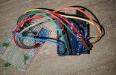 Gyroscope led contrôle avec Arduino