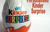 Cadeau personnalisé de Kinder Surprise