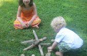 Faire semblant de Camping avec les enfants