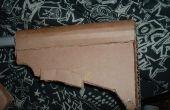 Comment faire un stock de M4 Carbine extensible en carton