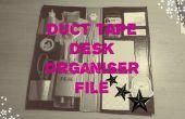 Duct Tape bureau organisateur fichier