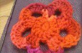 Fleur au Crochet pétale 5
