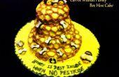 Le gâteau aux carottes noix miel abeille ruche