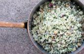 Salade d'orge avec pois chiches et de Feta