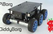 DiddyBorg : Le Mini 6 roues Raspberry Pi Robot !