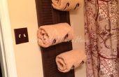 Porte-serviette bricolage obturateur