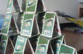 Comment (à l'aide de techniques-ish) faire un château de cartes
