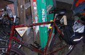 Vélo LED s'allume avec des boîtiers maison