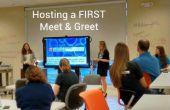 Organise une première rencontre & salue