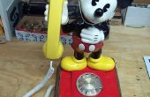 Mickey Mouse Rotary téléphone cellulaire