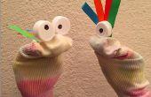 Marionnette chaussette bricolage