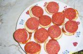 Mini bouchées de Pizza