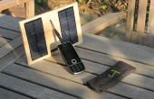 Chargeur solaire programmable