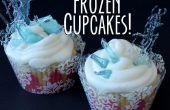 Cupcakes de glaçon gelé de Candy !