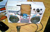 Mes cartons stéréo haut-parleur pour un lecteur MP3 et mon téléphone portable