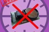 Chronométrage sur ESP8266 & arduino uno sans un RTC (Real Time CLock) ?