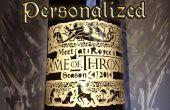Game of Thrones personnalisées étiquette de bouteille