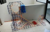 Full Throtle Knex roller coaster