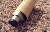 Télescope de rouleau de papier toilette