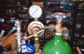 Système de CO2 pour l'exécution des outils pneumatiques et pneus de remplissage