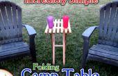 Pliage facile bois Camp Table