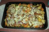 Casserole de poulet Veggie bacon
