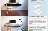 Minime flotteur mur Desk - make-plus rapide pour la production de masse ou de bricolage