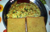 Omelette de nouilles instantanées