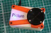 Photo - la 3D imprimé framboise Pi caméra.