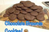 Biscuits brownies au chocolat