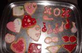 Maison cuit et glacé Cookies