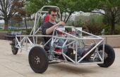 Un châssis de véhicule à 3 roues de génie