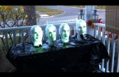 Arduino alimenté Haunted Mansion chant bustes