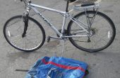 « Fold » un vélo non-pliante et éviter des frais d'avions