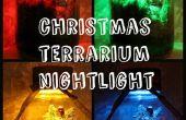 Christmas terrarium nighlight