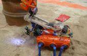 Robot crabe (nettoyage de la plage)