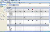 Déchirant les titres Drum de fichiers MIDI
