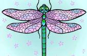 Comment dessiner une libellule