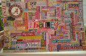Année d'étudiant de première année de Bailey Word Collage
