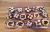 Vanille et biscuits au chocolat