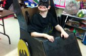 Fauteuil roulant Batmobile Costume