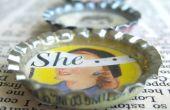 Comment faire des aimants de Bottlecap Vintage