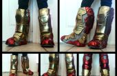 Iron Man Cosplay bottes