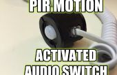 PIR Motion activé Switch Audio