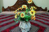 Vase à fleur de bâtons de POPSICLE