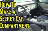 Faire un compartiment Secret de voiture !